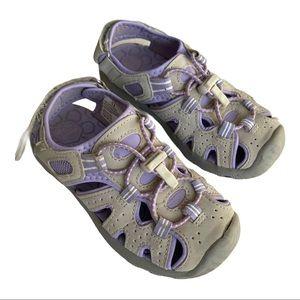 KHOMBU Dana waterproof sandals 12 purple violet